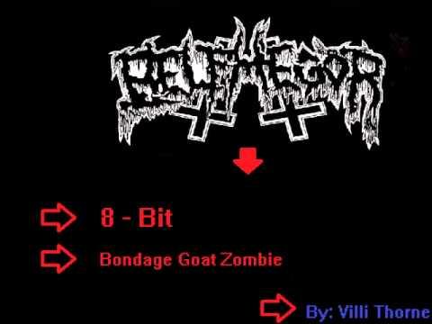 8-Bit Metal Shit: Belphegor - Bondage Goat Zombie