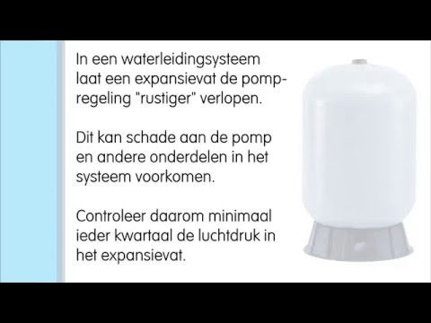 Bekend Expansievat controleren - YouTube VI12