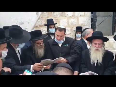 מעל 2500 מתפללים הלילה בקבר יוסף
