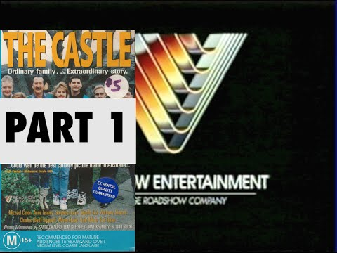 Opening and Closing to The Castle 1997 VHS (Australia) Part 1