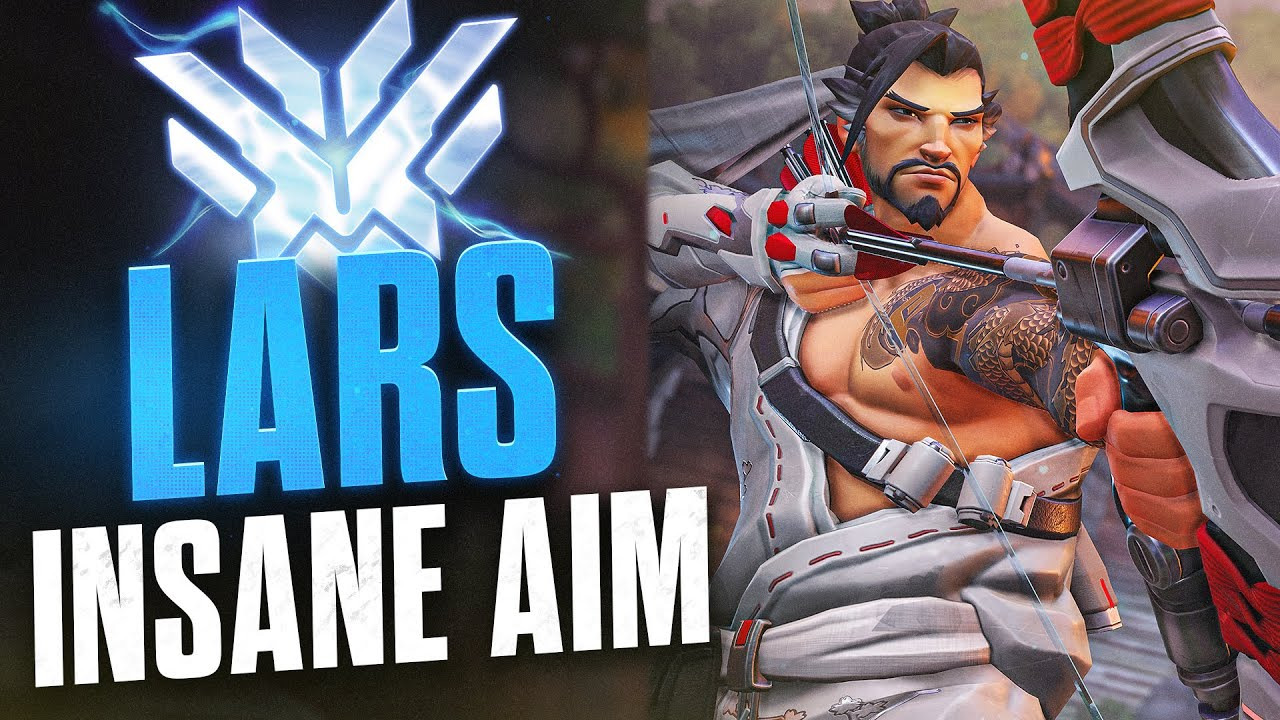 """Download LARS """"THE GOD ACCURACY HANZO"""" - Overwatch Montage"""