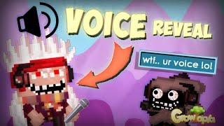 PETERW VOICE REVEAL !?!? TROLLING & DROPPING DLS WITH PETERW !! - Growtopia Indonesia