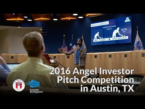 2016 Angel Investor Pitch Competition in Austin, TX