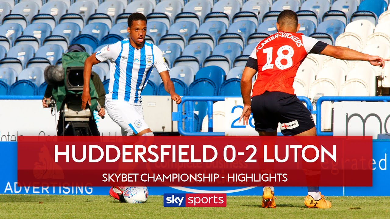 Luton move off bottom with big win at Terriers | Huddersfield 0-2 Luton | Championship Highlights
