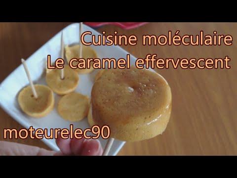 Comment faire des sucettes de caramel effervescent - Comment faire de la cuisine moleculaire ...