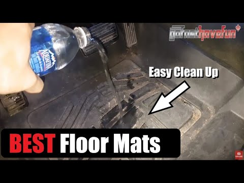 Best Floor Mats Ever!!! (AKA Floor Liner) | AnthonyJ350