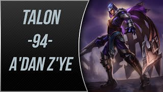 LoL | TEK ATAN Talon Oynanış | Gameplay | A'dan Z'ye #94