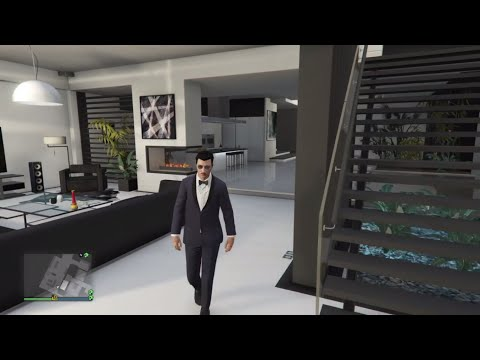 All penthouse apartment views grand theft auto v online for Designer apartment gta