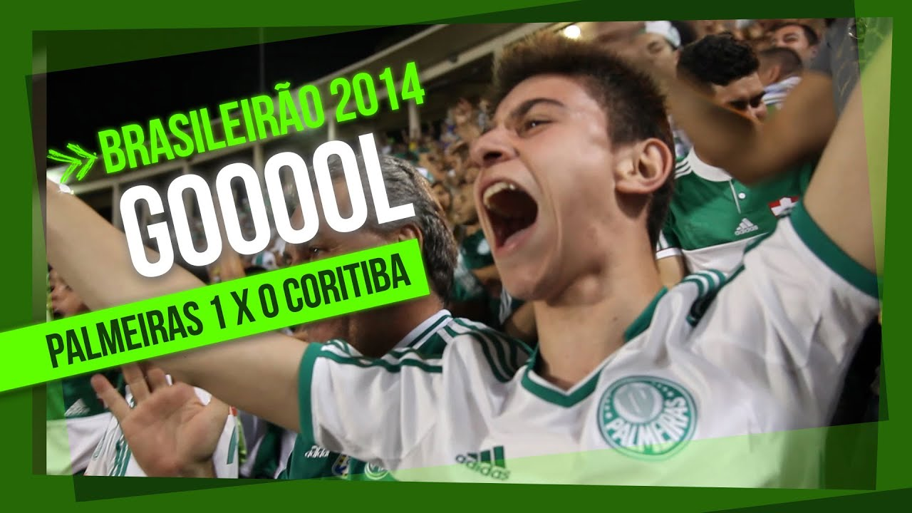 Gol Da Arquibancada Palmeiras 1 X 0 Coritiba Brasileirao 2014 Youtube
