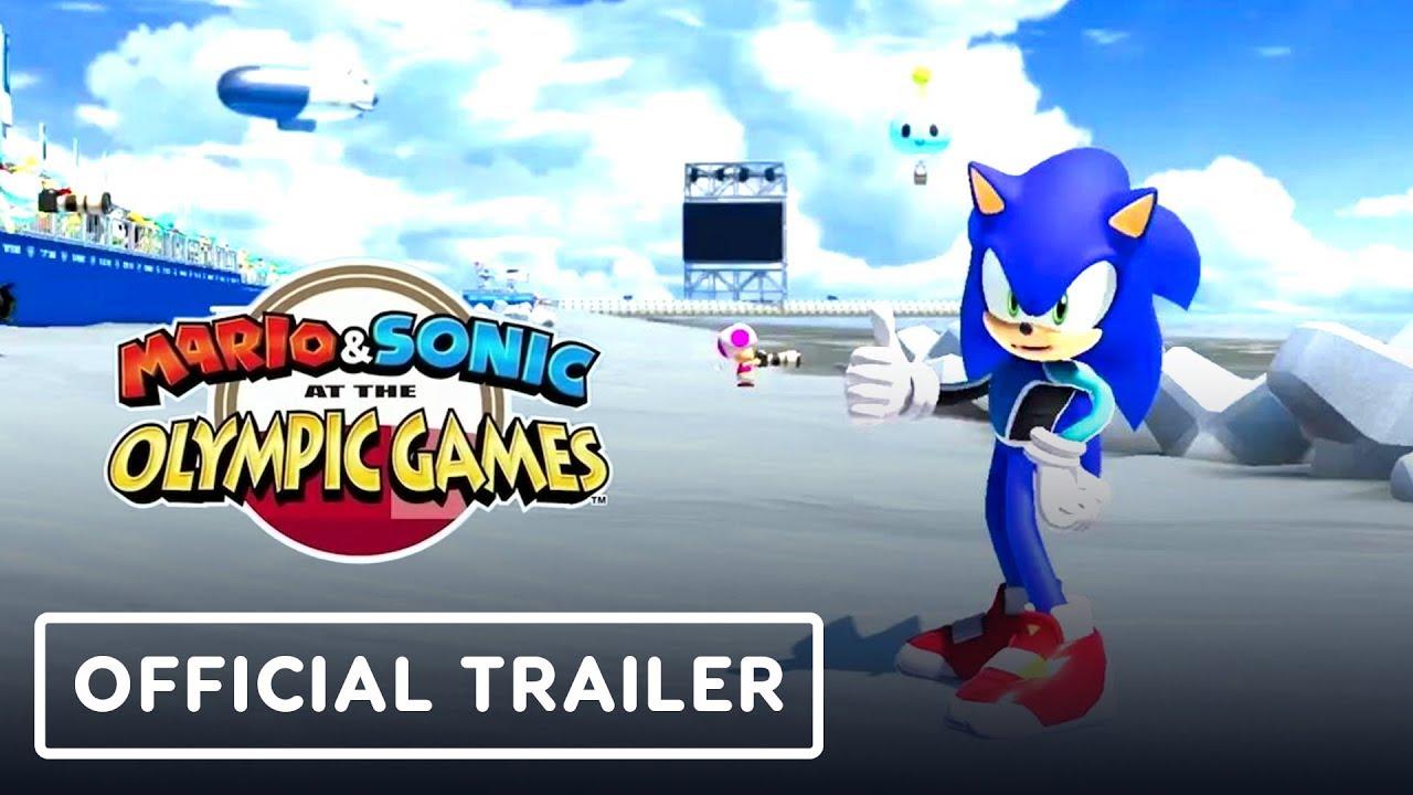 Mario und Sonic bei den Olympischen Spielen 2020 Offizieller Trailer - E3 2019 + video