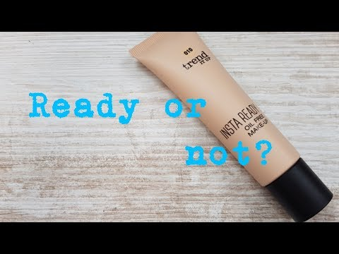 Foundation - Day | trend it up insta ready foundation | longwear und review | codo80Berlin