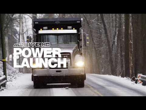 Mack mDRIVE - Power Launch