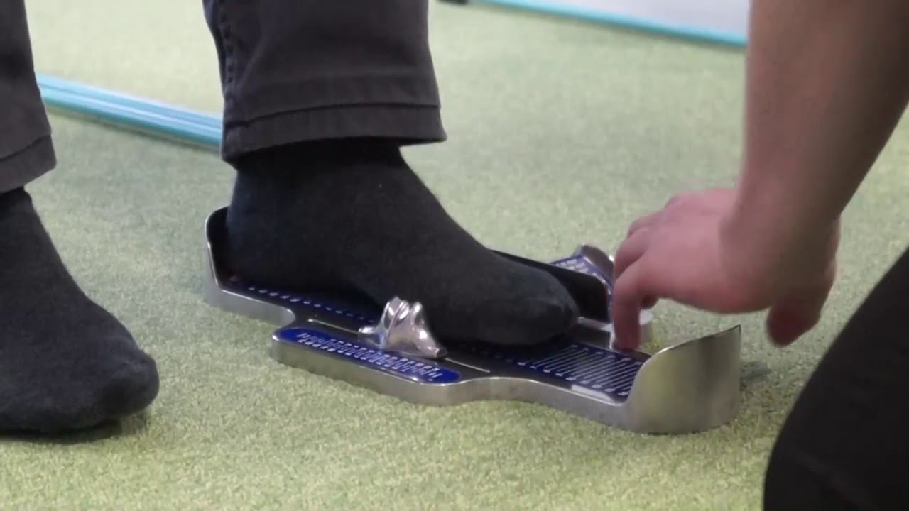 Name Of The Foot Measuring Device : Brannock device youtube