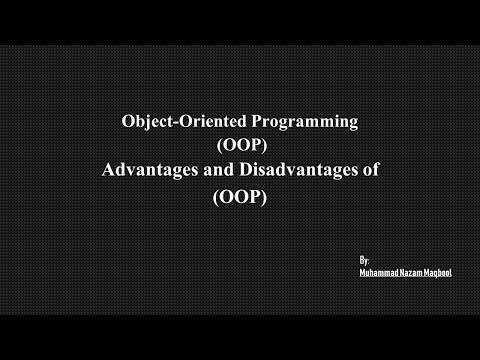 Advantages And Disadvantages Of OOP