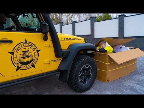 Jeep ПРОТИВ огромной КОРОБКИ. Развлекаемся...