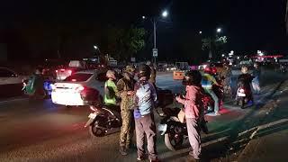 Military Checkpoint: Manila Lockdown Light