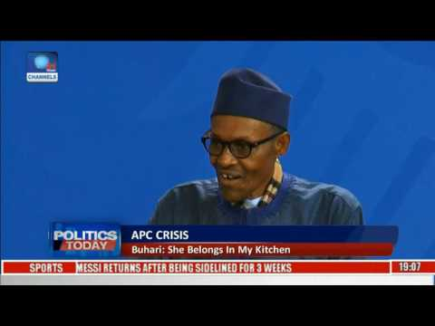 3 things President Buhari said about his wife