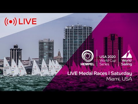 LIVE | Medal Races | Hempel World Cup Series Miami 2020 | Saturday 25th January