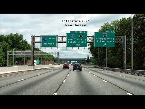 2016/05/30 - Interstate 287 Suburban New Jersey