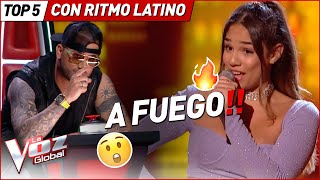 BAILARON al RITMO LATINO con estas canciones en La Voz