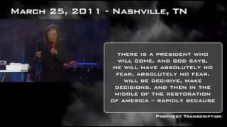 Kim Clement Prophecy of America and a woman named Esther