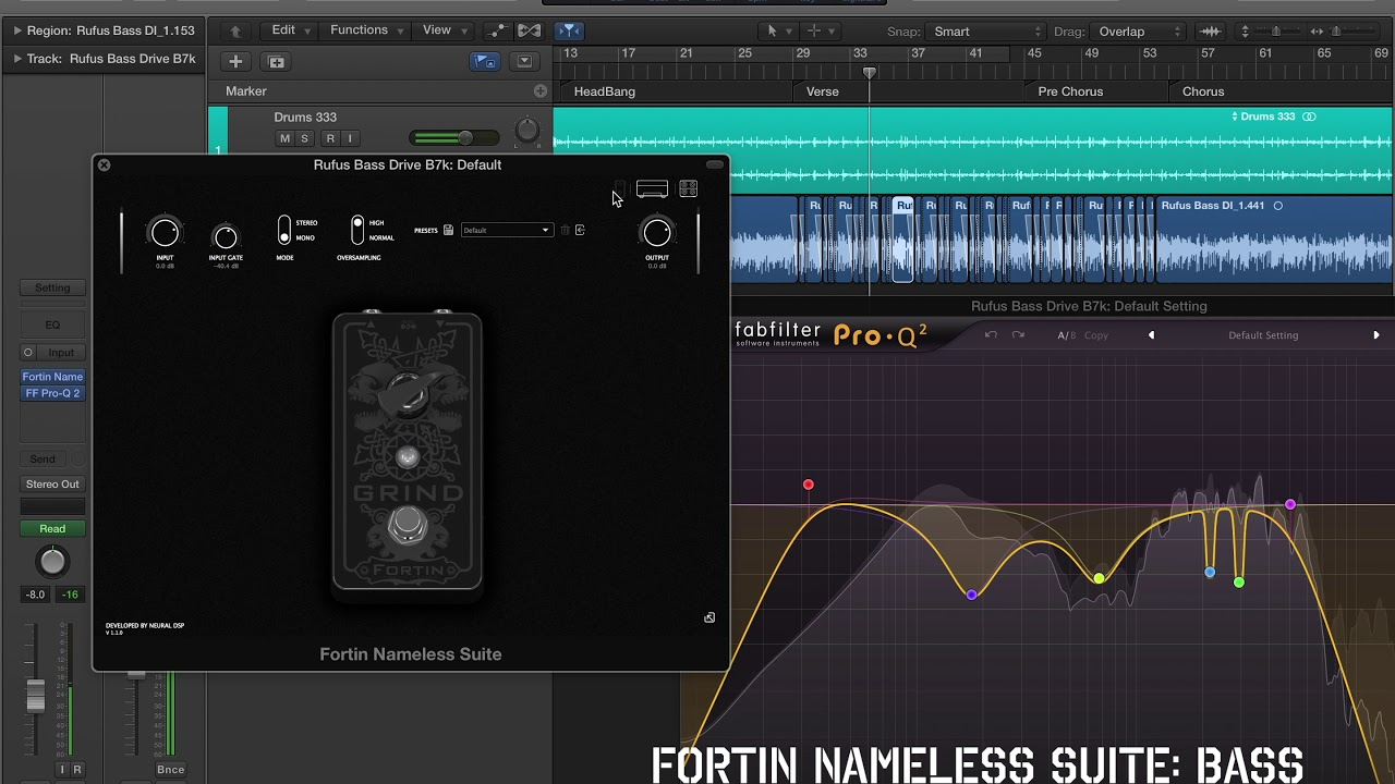 best amp sim ever fortin nameless suite plugin guitar bass demo youtube. Black Bedroom Furniture Sets. Home Design Ideas