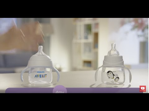 Go From Baby Bottle To Sippy Cup With Our AVENT Products | Philips