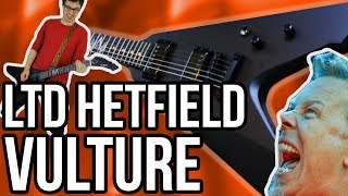 ESP LTD James Hetfield Vulture Demo/Review || The Best V LTD Have Ever Done?!