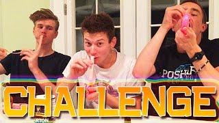 6 FEET OF GUM FUNNY CHALLENGE
