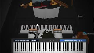 Roblox Piano| NF- Let You Down| Full| (Notes In The Description)