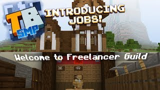 The Hiring Tavern! - Truly Bedrock season1 #20 - Bedrock Edition Youtube Server