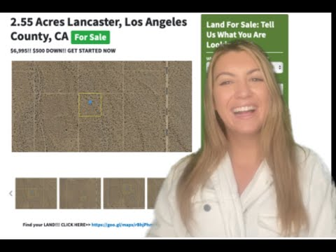 2.55 Acres Lancaster Property in Los Angeles County, CA