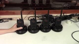 Prosser Auditorium - Walkie talkies