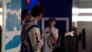 Tesco Filling Station Driver Q&A BTCC Donington 2014 with Jason Plato, Sam Tordoff & David Pittard
