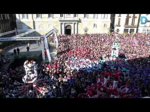 La Diada de Sant Eulàlia enceta la temporada castellera a la ciutat