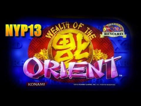 Konami - Wealth of the Orient MAX BET Line Hit & Slot Bonus ◆ BIG WIN ◆