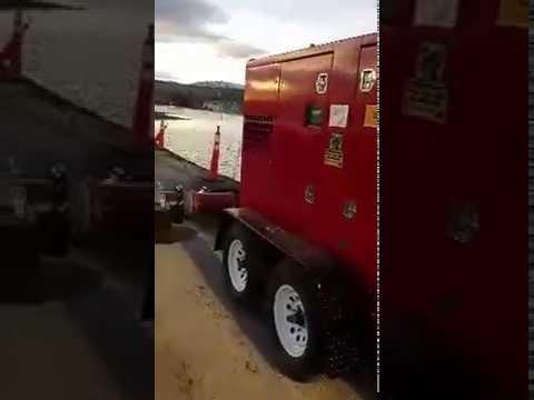 Cashman Equipment Installs Global Pump Equipment For Lemmon Valley Flooding March 2017