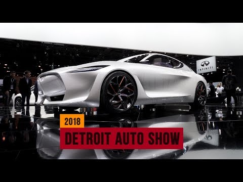 These are the top 5 concepts of the 2018 Detroit Auto Show