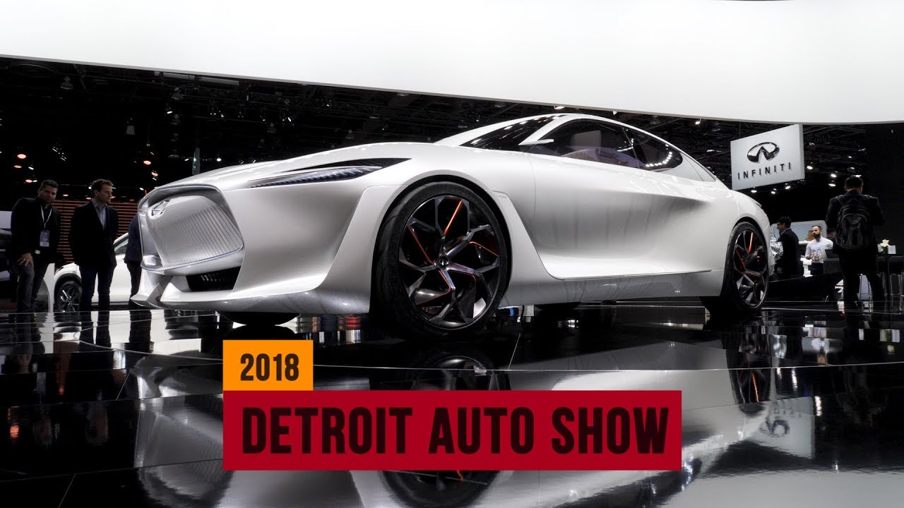 These are the top 5 concepts of the 2018 Detroit Auto Show - Dauer: 2 Minuten, 20 Sekunden