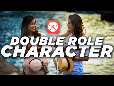 Kinemaster Editing #5 How To Make Double Role Character Video On Mobile