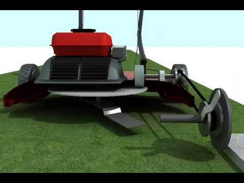 Lawn Mower Grass Cutter Edger Trimmer Weed Wacker