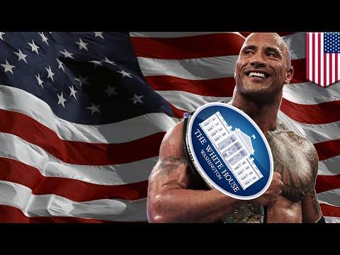 Presiden The Rock; jika The Rock menjadi calon presiden Amerika 2020 - Tomonews