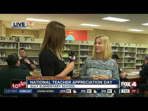 Gulf Elementary School celebrates Teacher Appreciation Week