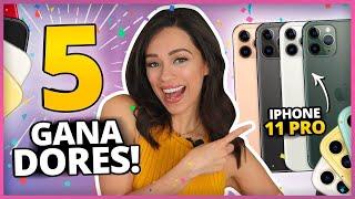 TE REGALO EL NUEVO iPHONE 11 PRO! | 5 GANADORES! | SORTEO INTERNACIONAL!