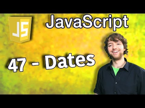JavaScript Programming Tutorial 47 - Dates (VALENTINES DAY SPECIAL) thumbnail