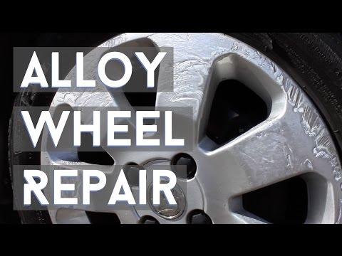 Cars: My DIY Curbed Alloy Wheel Repair Attempt