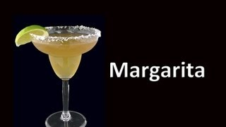 Margarita Cocktail Drink Recipe