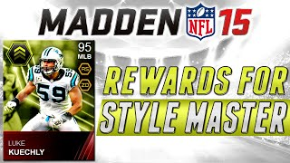 MUT 15 - Elite Style Masters Peyton Manning and Luke Kuechly - Madden 15 Ultimate Team