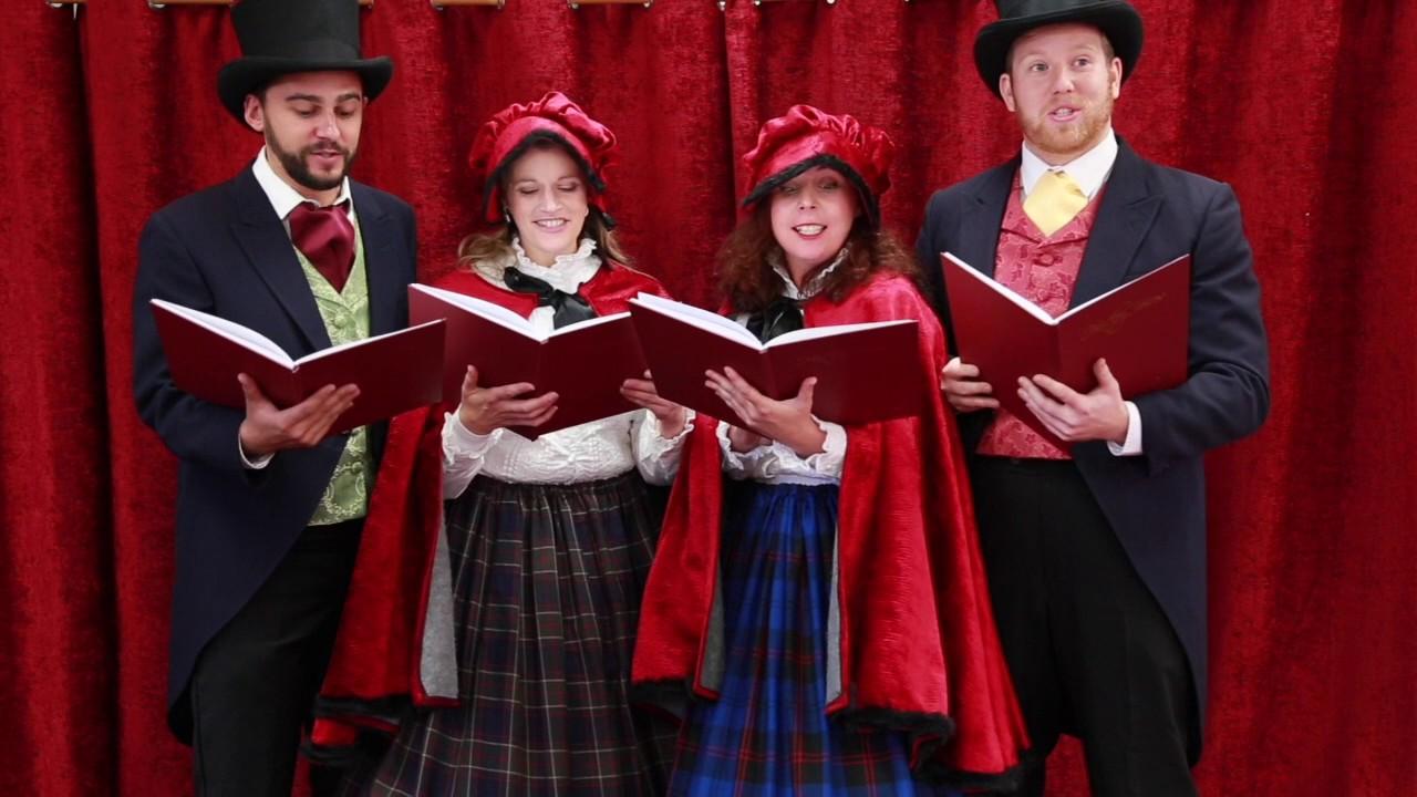 Victorian Carol Singers Quartet Youtube