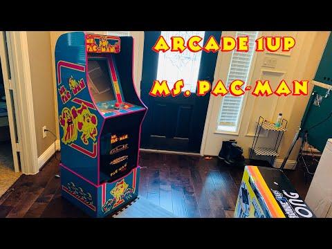Ms. Pac-Man - Arcade1UP Cabinet from MRN Bricks